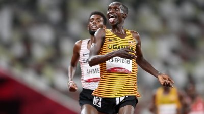 The Touchline Sports - Cheptegei wins Uganda another gold medal at the Tokyo games