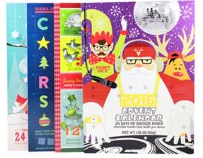 Chocolate Advent Calendars, $0.99