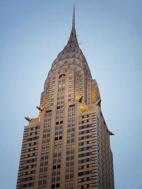 Chrysler Building Was Specifically Designed For Corporation There Are Many Elements Of The Meant To Be A Subtle Nod Car