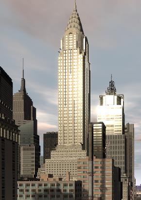 Chrysler Building in Grand Theft Auto IV