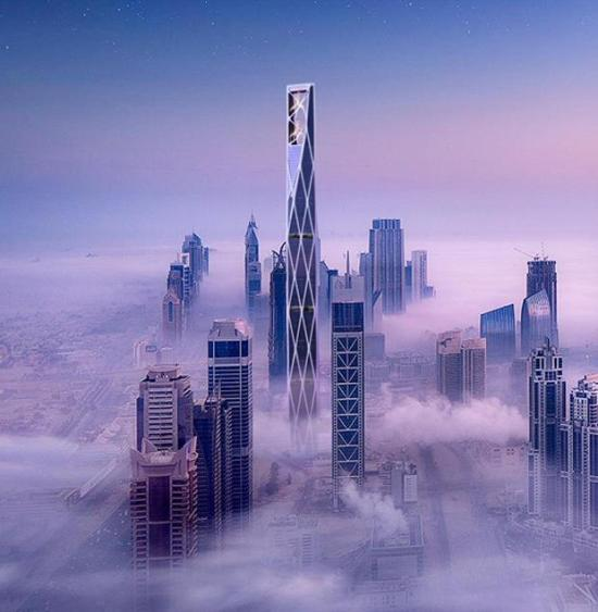 List Tallest Skyscrapers Under Construction And Planned In Dubai The Tower Info