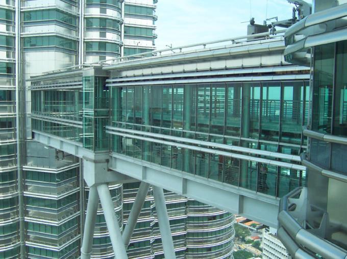 The skybridge of Petronas Towers