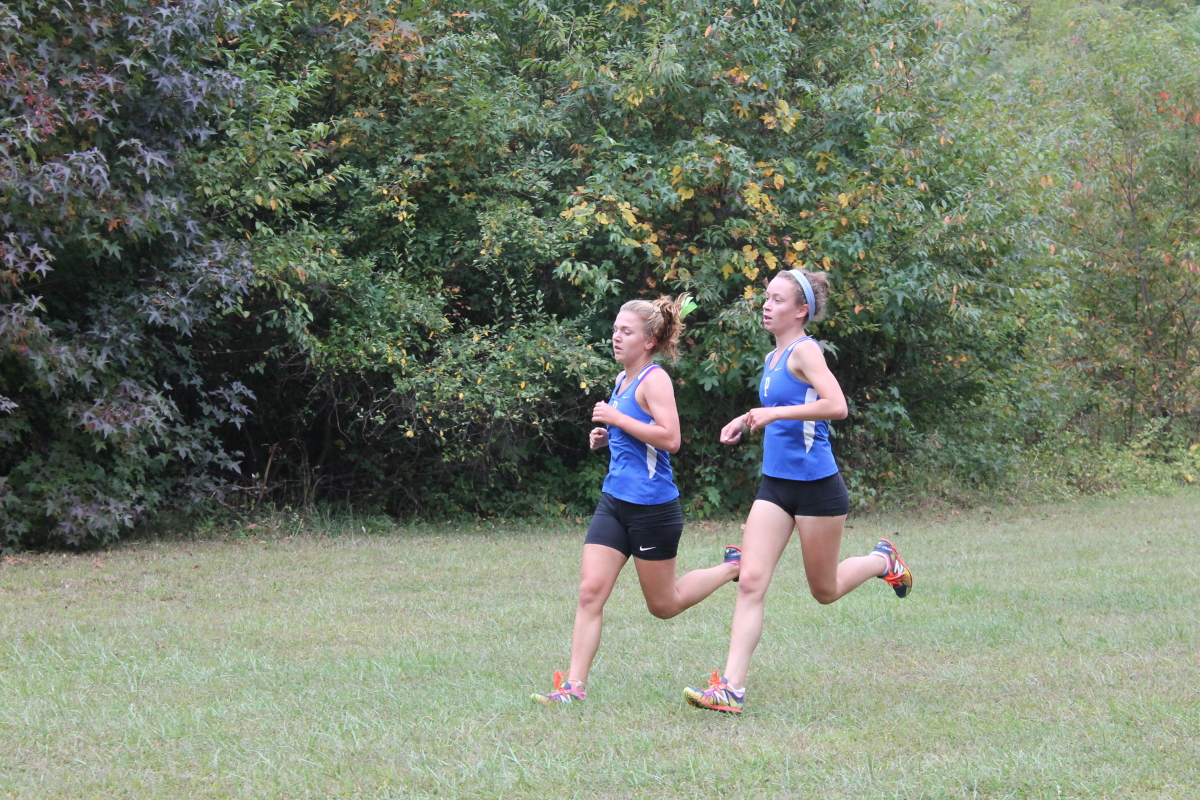 Girls cross country works to shrink time gap