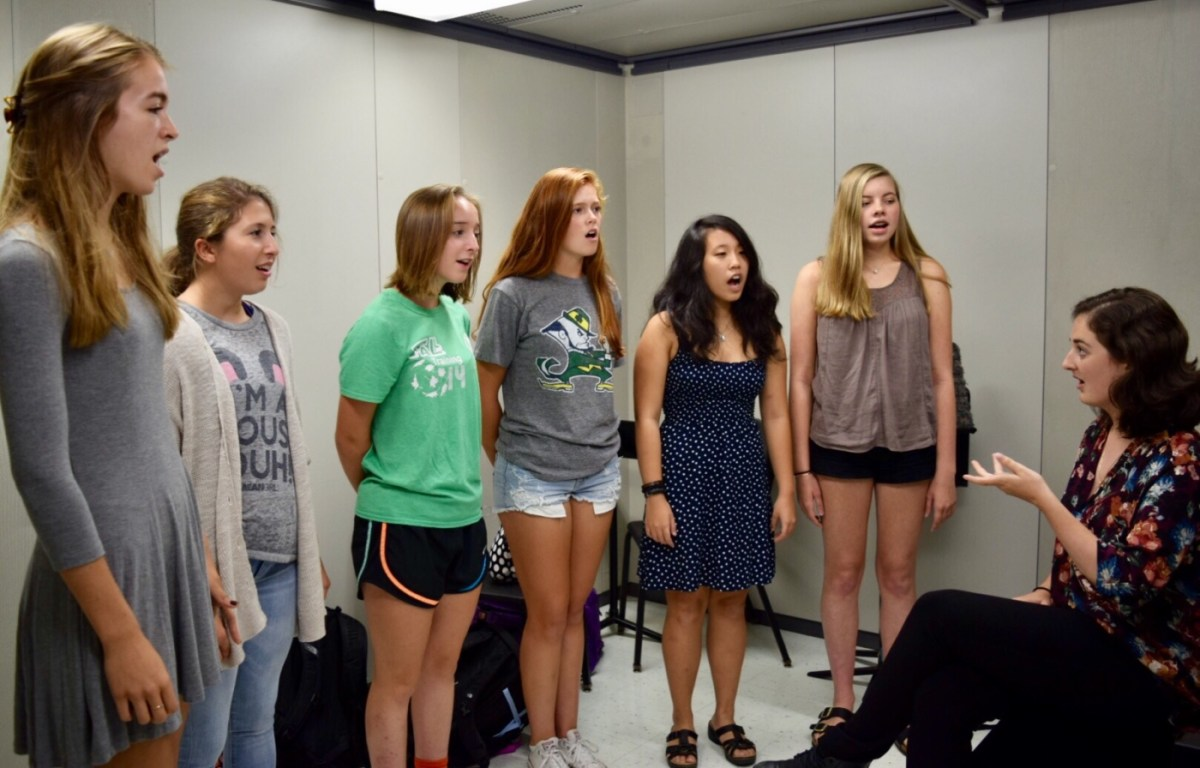 PHS A Cappella groups look forward to performing, competing, and bonding with new members