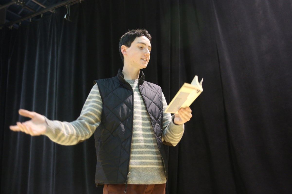Jack Lynch '17 pursues passion in performing arts program
