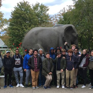 photo courtesy Ms. CarbonePrinceton High School Africa class visits Philadelphia Zoo to study animal biodiversity