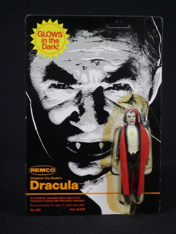 Remco Mini Monster Dracula Action Figure