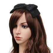 80's women girls lace headband