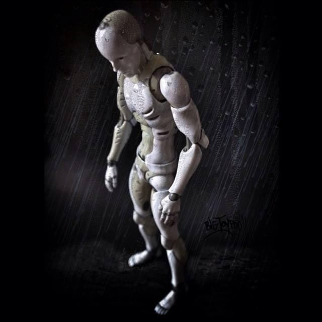 SYNTHETIC HUMAN 1000toys rain BTP Thetoychronicle