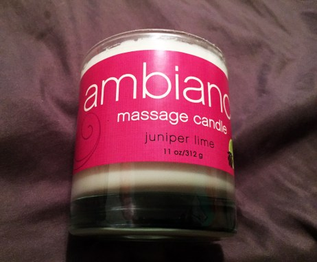 Ambiance Massage Candle