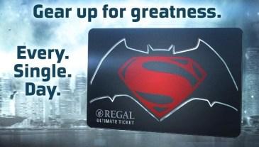 Batman V Superman Ultimate Ticket