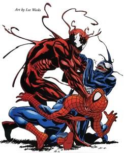 Carnage-Venom-Spider-man