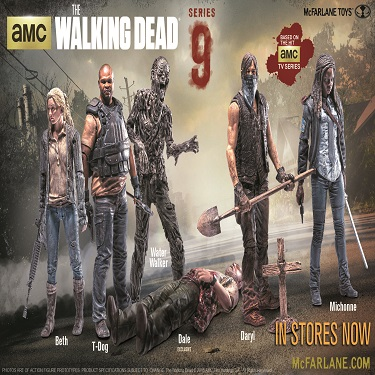 The Walking Dead Series 9 Figures