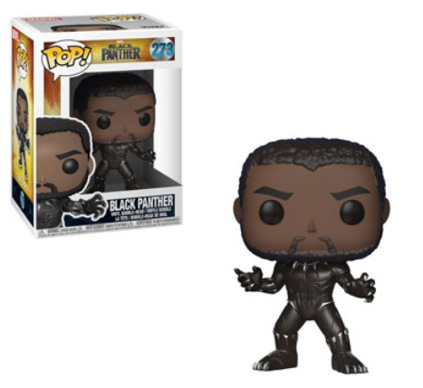 Black Panther Pop Figures