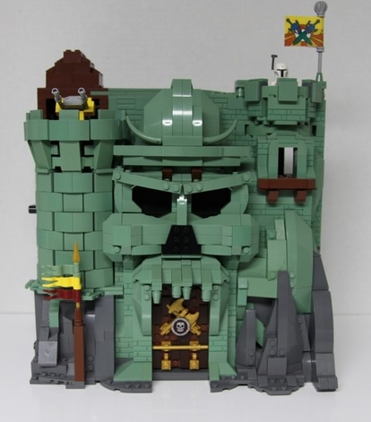 Lego Ideas Lego Castle Greyskull The Toy Locker