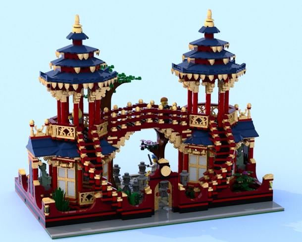 LEGO Ideas Chinese Gardens