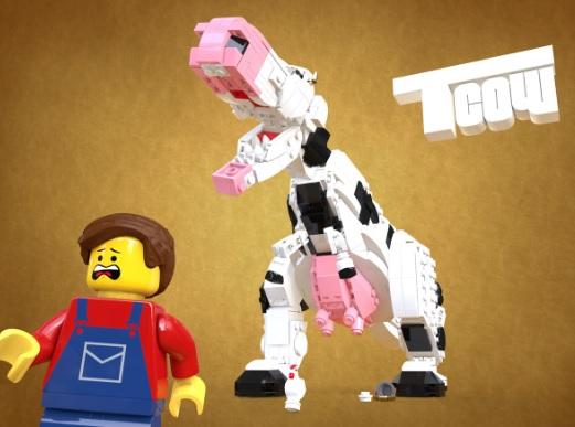 LEGO Ideas: Tyrannocow