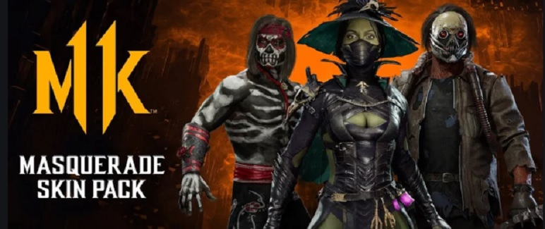 MK 11 Masquerade Skin Pack