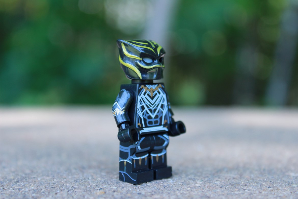 T'challa's New Black Panther Suit