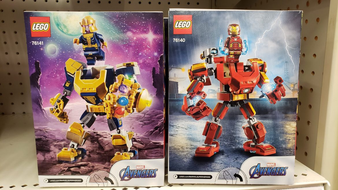 Lego and Mega Construx 2020 Sets Spotted at Target!