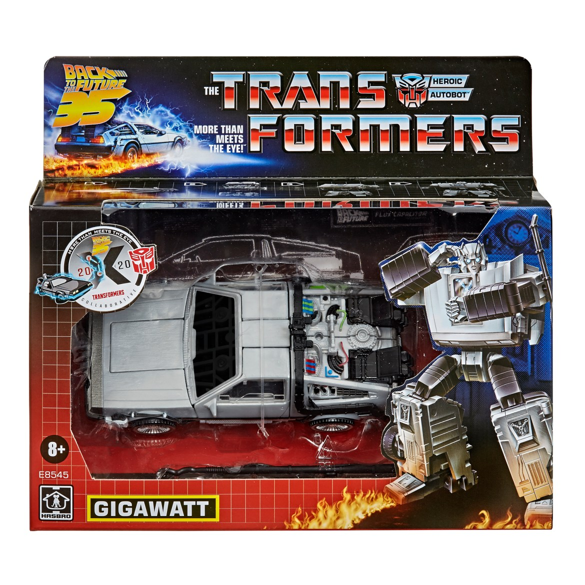 Transformers Generations – Transformers Collaborative: Back to the Future Mash-Up, Gigawatt Available for Pre-Order