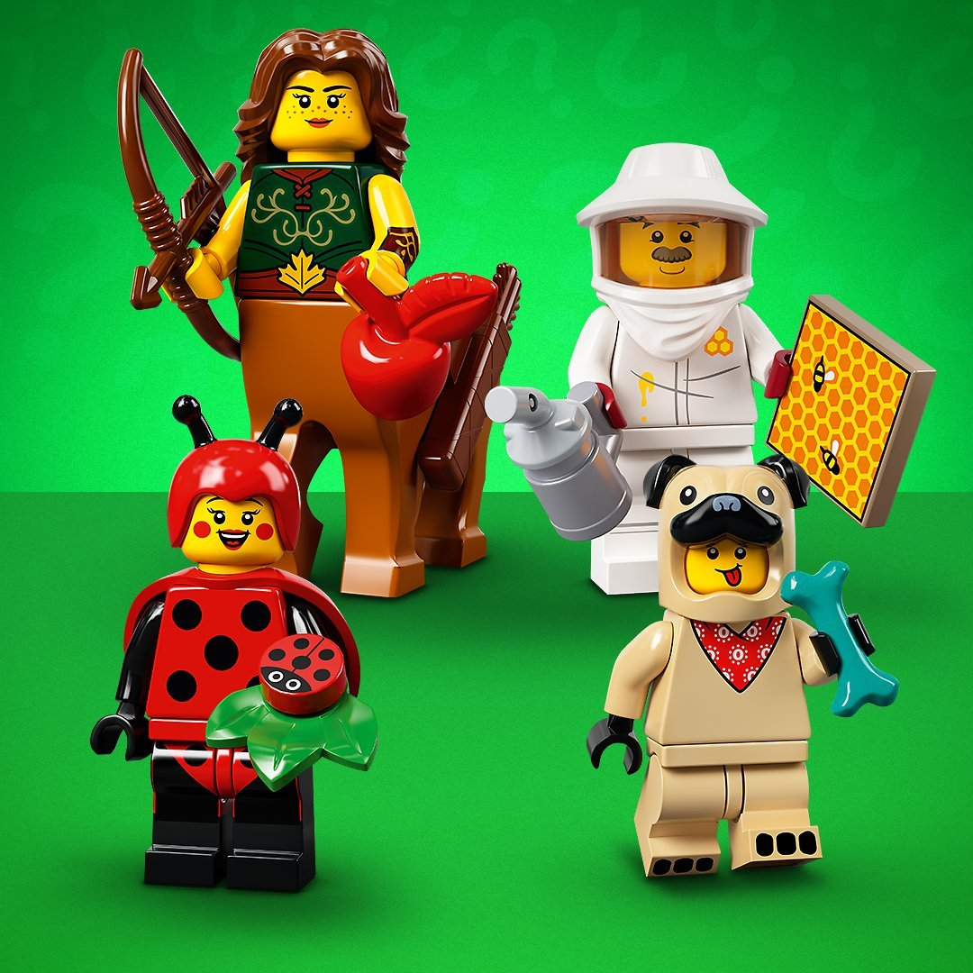 Lego 71029 Collectible Minifigures Series 21 Revealed!