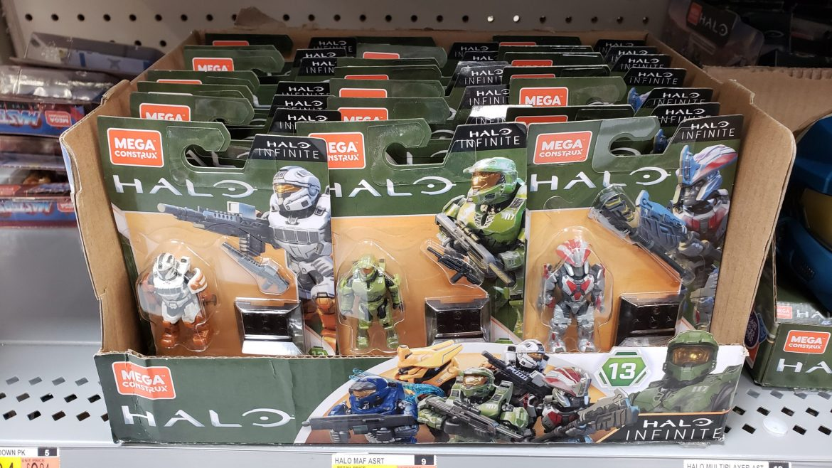Mega Construx Halo Heroes Series 13 Box Distribution (Character Ratio)
