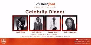 Hello Food Celebrity Dinner