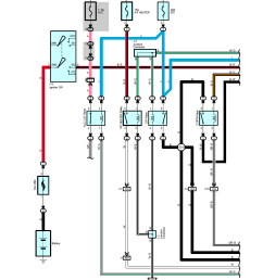 looking at the actual circuit diagrams for a 2003 toyota 4runner i saw the following diagram for the air fuel sensor system  [ 899 x 1047 Pixel ]