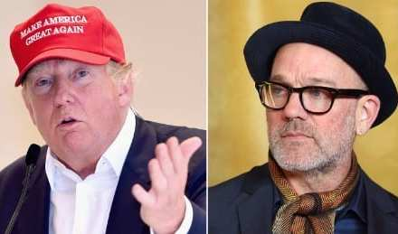 REM, Donald Trump, and the Gay Eye of the Tiger, today's Interesting IP!