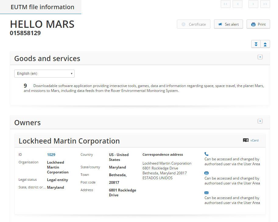 hello-mars-app-trademark-application-filed-by-lockheed-martin-corporation-mars-hellomars