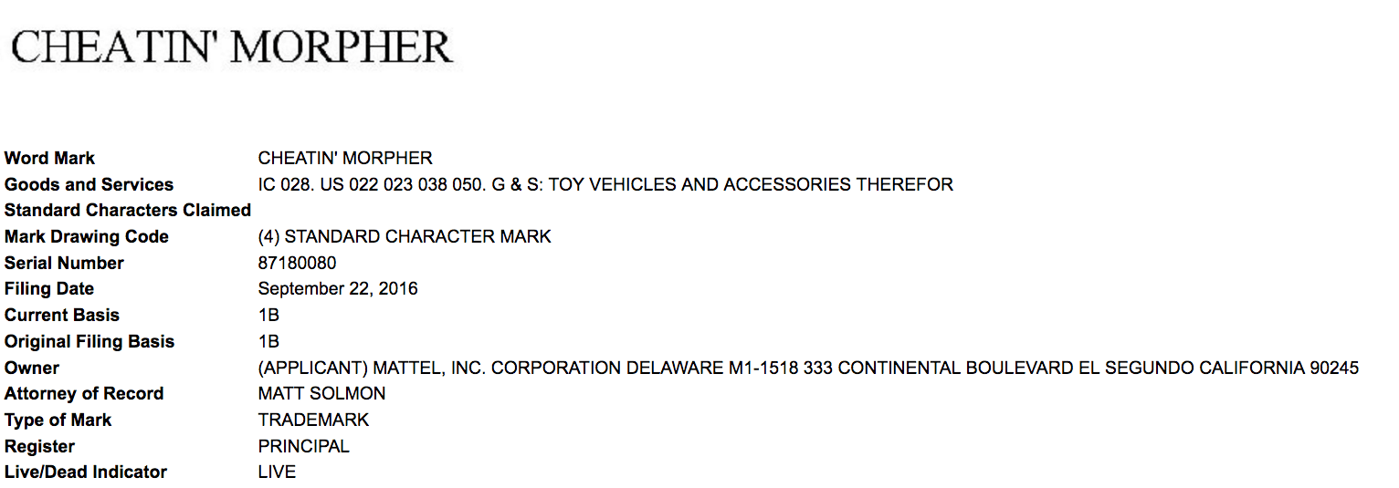 matel-have-filed-a-trademark-application-for-cheatinmorpher-anything-to-do-with-power-rangers-lads