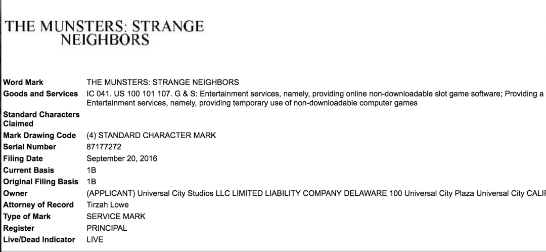 the-munsters-strange-neighbours-trademark-application-filed-in-the-us