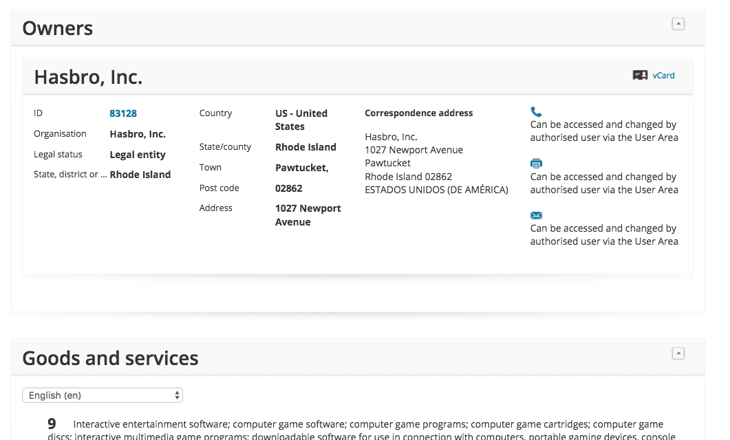 Another day another moji trademark application this time for Showmoji from @Hasbro #Hasbro