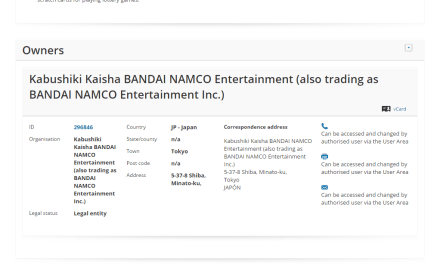 Bandai Namco applies for EU Trademark for Fortune Gears @BandaiNamco Bandai Namco