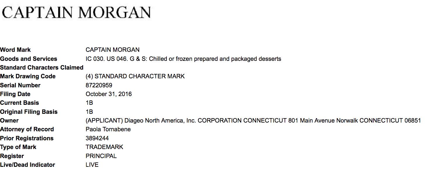 Captain Morgan Frozen Desserts Well That Just Has Danger Written All Over It Captainmorgan Captainmorgan