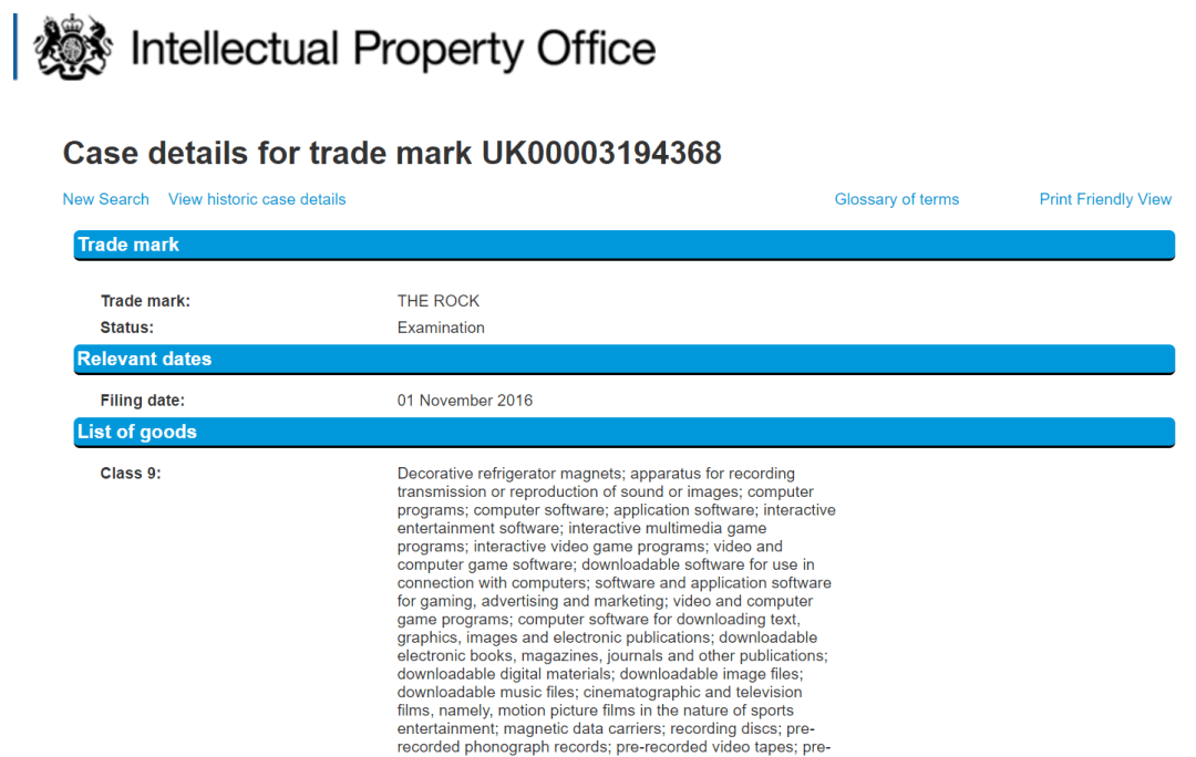 I Would Love To Get A Look At A Wwe Contract They Have Applied For Uk Tradmark For Therock Wwe Therock Trademark