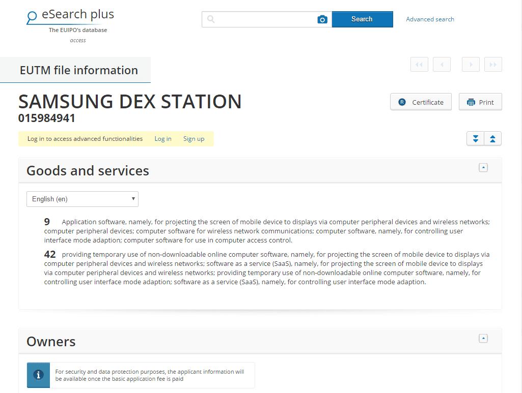 Samsung Dex Station Details