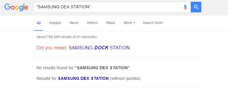 Samsung Dex Station Google Results