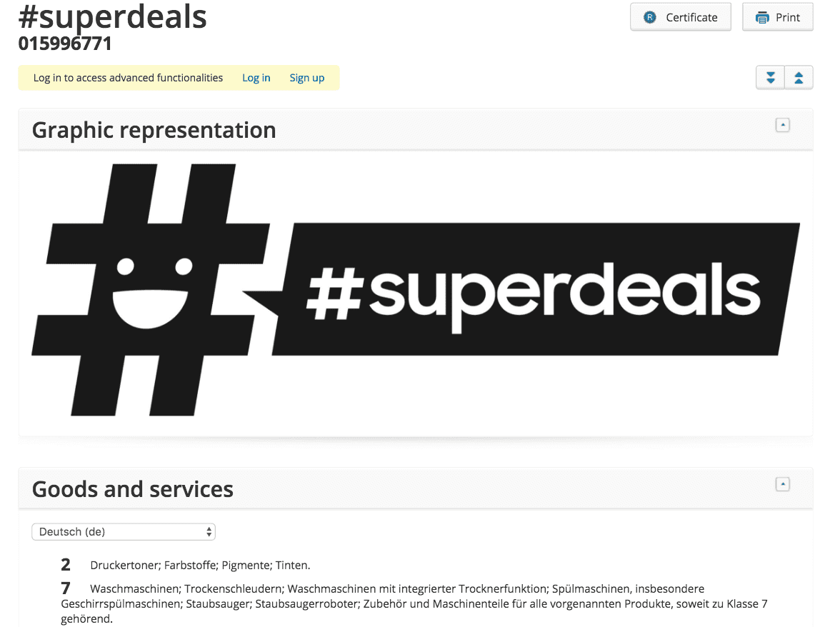 Samsung Have Applied For A Trademark For Superdeals Presumably On Note 7s And Washing Machines Zing Samsung Samsung Superdeals
