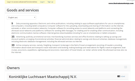 Airline @KLM have lodged an EU trademark application for KLM ReadySetFly