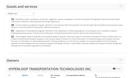 If @elonmusk applies for trademarks for all his stuff maybe you should too HyperloopAcademy Tesla