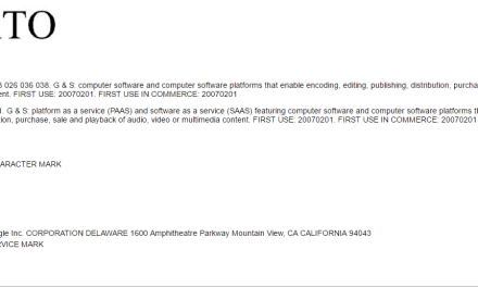 Another Google Trademark Application for Anvato What happened with the last one @Envato Trademark