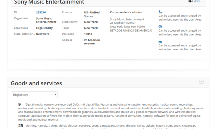 EU Trademark for Rumble Yard filed by @SonyMusic RumbleYard