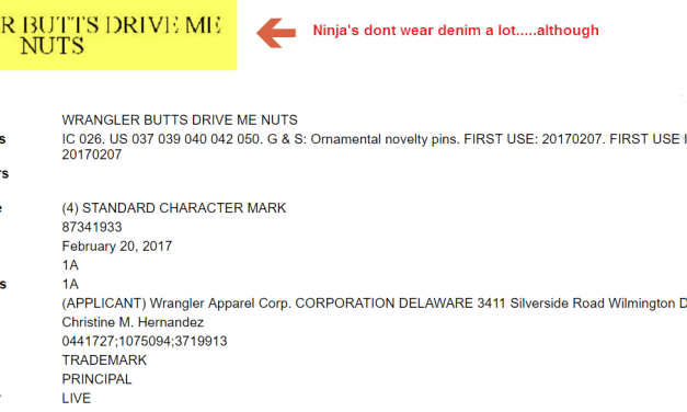 Its been a good while since I bought a pair of @wrangler maybe this trademark application is a sign