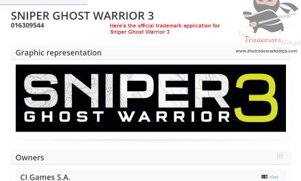 The Official EU Trademark for Sniper GhostWarrior 3