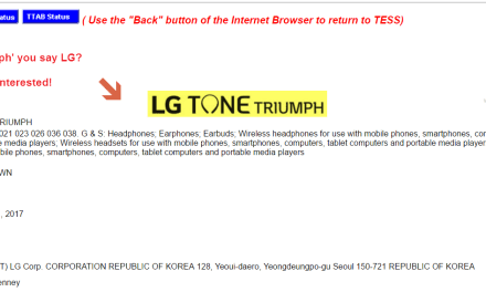 Electronics giant @LG applies for US trademark for ToneTriumph LG LifesGood