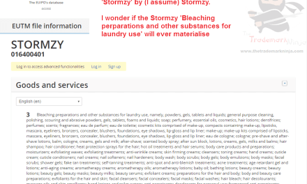 I cant wait to get my hands on the @Stormzy1 laundry bleach products Stormzy Trademark