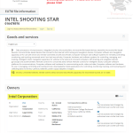 If youre looking for put on a light show @Intel has filed the EU trademark application for ShootingStar Intel