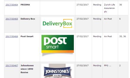 Irish Trademark Applications PostSmart LifeKitchen FABUShoes Trademark TrademarkNinja